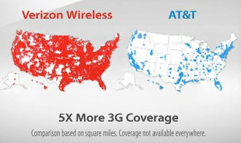 Cell Phone Follies ATT Sues Verizon Over G Map TMobile Suffers - Att cell map