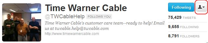twc customer service number nc