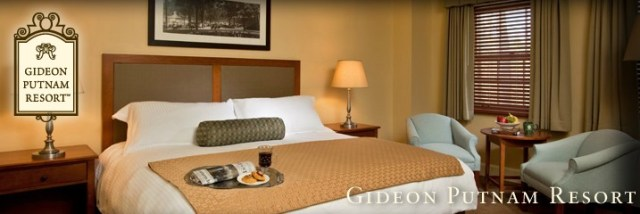 Time Warner Cable chose the prestigious Gideon Putnam Resort for its annual shareholder meeting, where rooms run $400-800 a night.