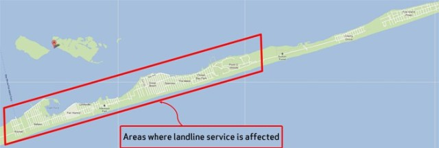 Where Sandy did the most damage on Fire Island