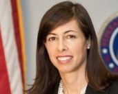 FCC's Rosenworcel met privately with Wall Street analysts to tell them she'll keep an open mind on reviewing a T-Mobile/Sprint merger.