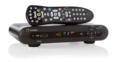 Windstream's Whole House DVR is only about the length of its remote control.