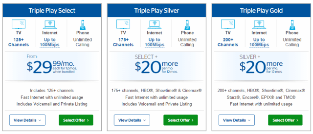 Charter Cable Packages >> Charter/Spectrum Only Sells Up to 100Mbps in Time Warner Cable Territories