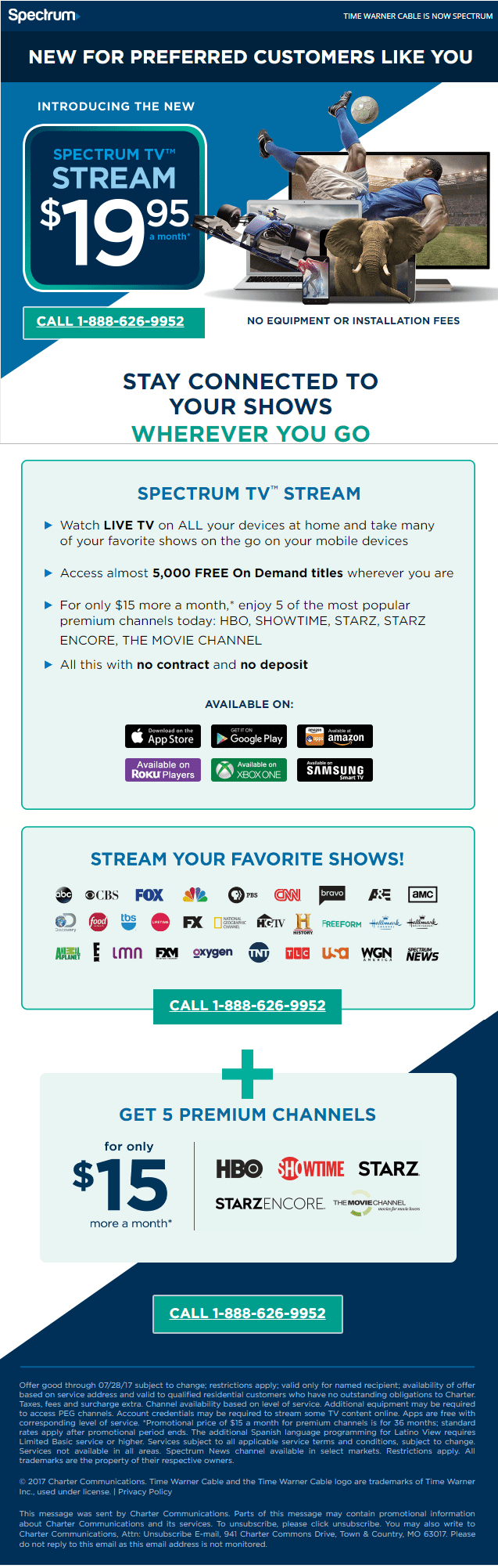 Charter Spectrum Introduces 19 95 Sports Free Online