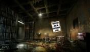 Message - Holocaust billboard abandoned room