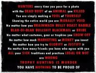 Trophy hunters - Revenge morally void 2 USE