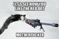 Trophy hunters - Revenge shoot red dot see how you like