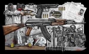 Armas en América: el otro arsenal de un continente violento