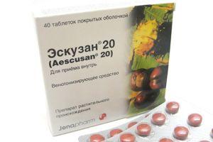 Эскузан капли или таблетки что лучше отзывы. Что сможет заменить эскузан, если его нет в аптеке