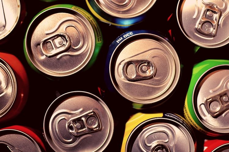 Tops of Soda Cans - Seven Easy Steps to Stop Drinking Soda