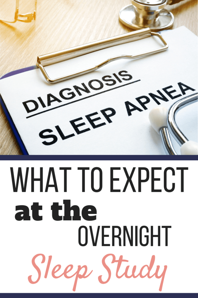 "A blue clipboard with a gold clip with a piece of paper that has the words ""Diagnosis Sleep Apnea"" typed on it 