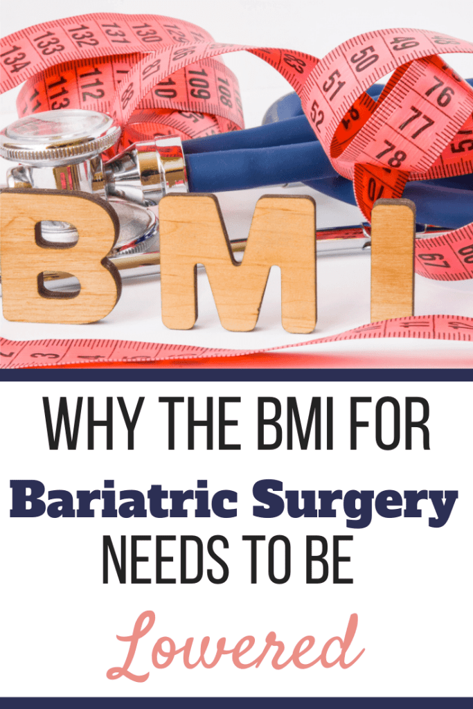 BMI wooden letters surrounded by a stethoscope and tape measure. | Why the BMI for Bariatric Surgery Needs to be Lowered | Include Obesity Class I | Graphic | BMI for weight loss surgery, BMI Calculator