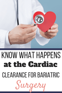 A doctor holding a stethoscope up to a red paper heart. Know What Happens at the Cardiac Clearance for Bariatric Surgery | Graphic | preoperative cardiac clearance for bariatric surgery, cardiology, bariatric surgery