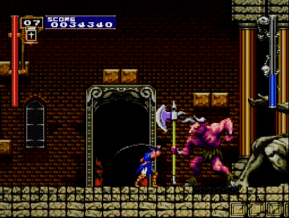 Castlevania Rondo of Blood third boss