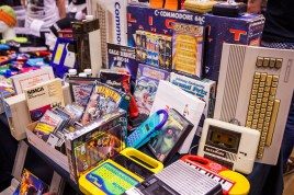 Retro computers for sale at Retro Gathering