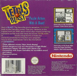 GB - Tetris Blast back