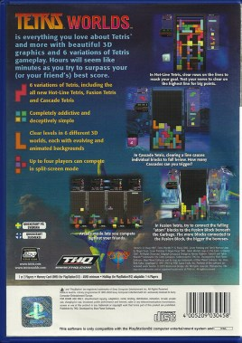 PS2 - Tetris Worlds back