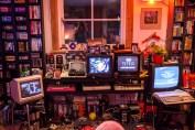Retro Tetris corner