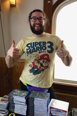 MSX with his awesome T-shirt ^_^