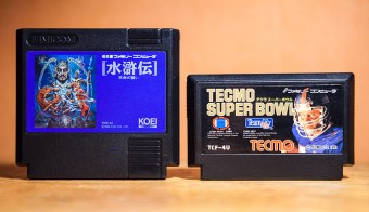 Suikoden Tenmei no Chikai and Tecmo Super Bowl for Famicom