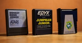 Atari 400 - Donkey Kong Junior, Jumpman Junior and Frogger