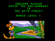 Awesome Possum save the rainforest!
