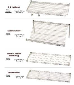 Stor-Tec shelving shelf types