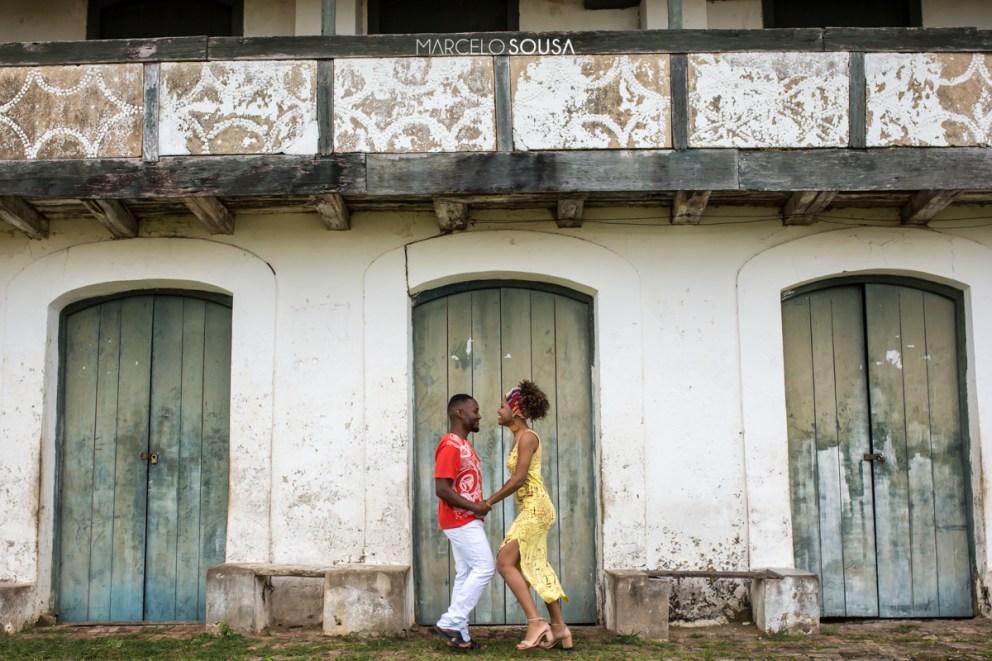casal afrodescendente