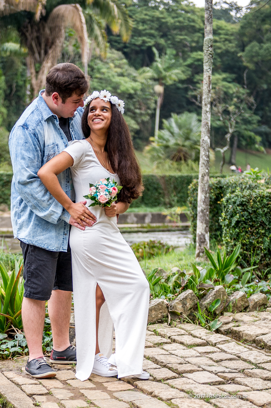 Pré Wedding Vestido Branco 7