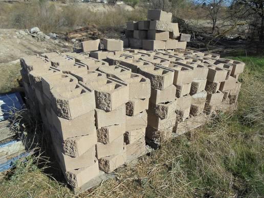 16x6 Tan Retaining Wall Blocks 500 Murrieta Materials For Sale Imperial Ca Shoppok