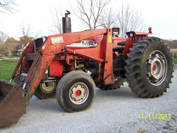 massey ferguson 285 tractor with loader