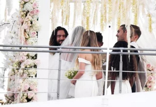 Heidi Klum u raskošnoj vjenčanici udala se na poznatoj jahti - Heidi Klum u raskošnoj vjenčanici udala se na poznatoj jahti
