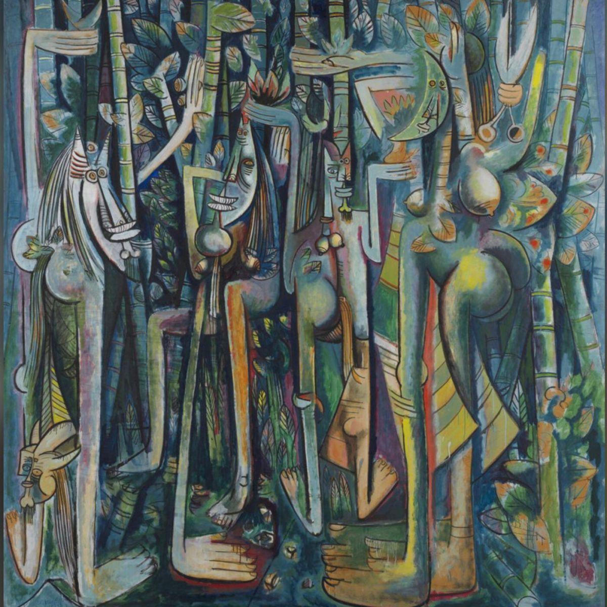 El Surrealista Wifredo Lam y su Enigmática Jungla