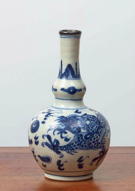 Vase, Chine pour le Vietnam, dynastie Nguyễn (1802 - 1945)