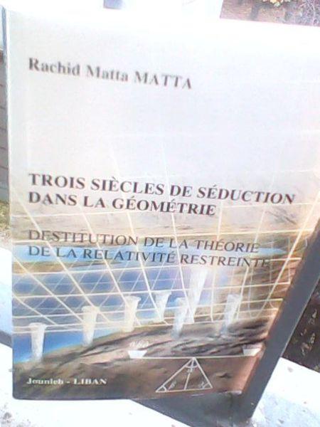 Rachid Matta Matta et les fondements de la géométrie (2/2)