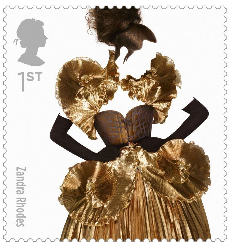 Fashion Stamps Zandra Rhodes