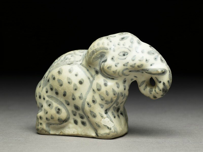 Figure of an elephant, Vietnam, Lê dynasty, 14th-16th century