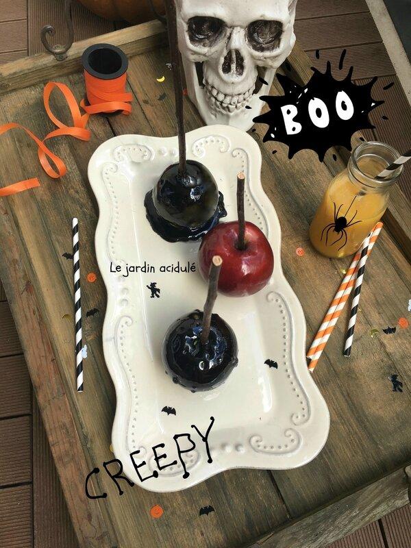 pomme d'amour halloween 3