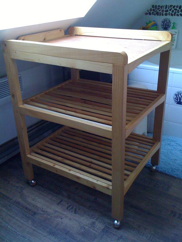 fabriquer une table a langer