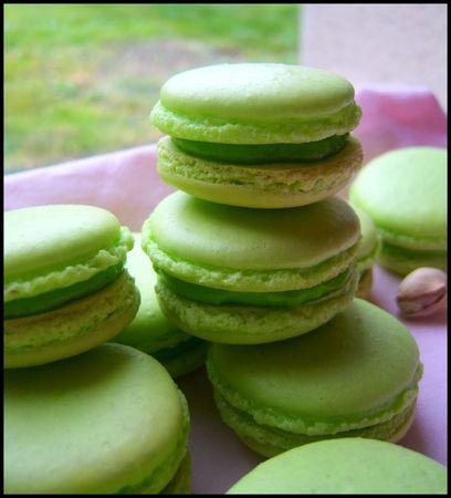 49878494 p Macarons à la pistache : divine tentation