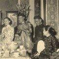 Mariage de mes parents dans la maison du culte de la famille Truong