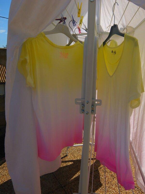 Tutoriel Teinture Tye And Dye En Dgrad Au Procion MX
