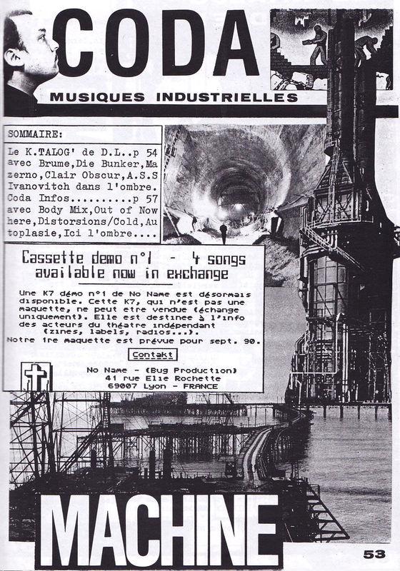 Cannibale n°6 un fanzine underground