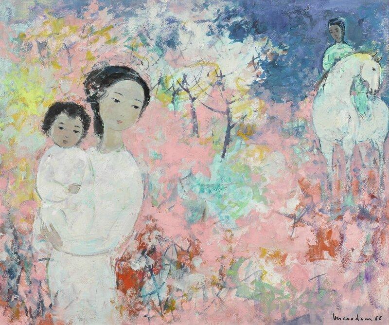 Vũ Cao Đàm (1908-2000), Le retour (The Return), 1966