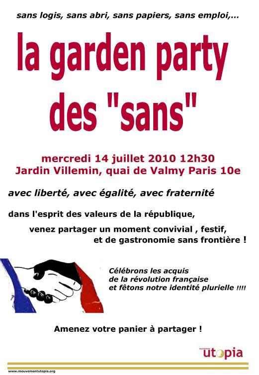 garden-party des sans