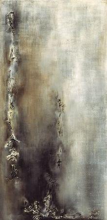 Peinture  de Zao-Wou-Ki