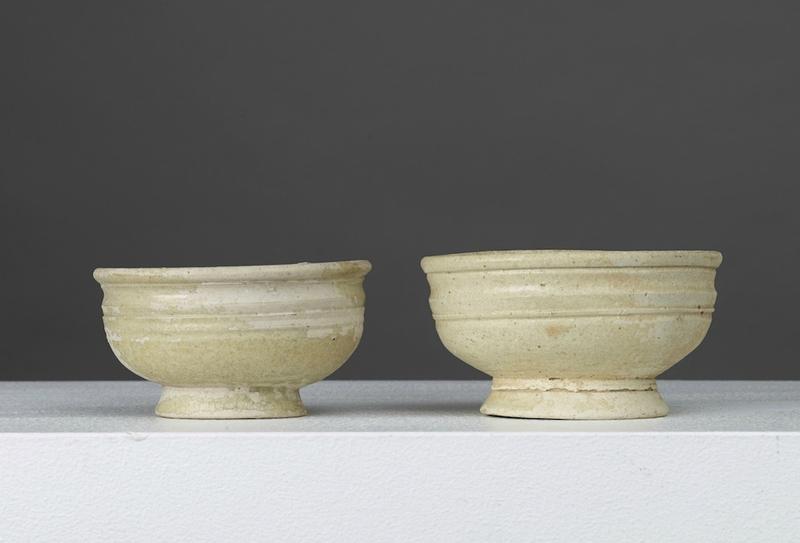 Lot composé de deux bols, Vietnam, période Hán Việt, 2°–4° S