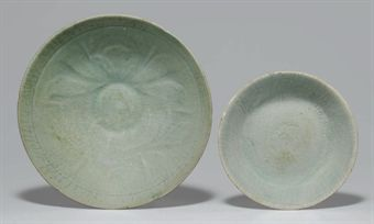 a_celadon_stoneware_bowl_and_a_saucer_goryeo_dynasty_d5347206h