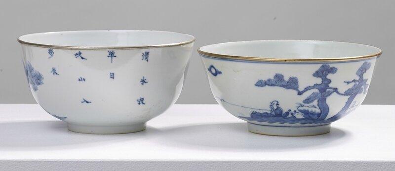 Paire de bols, Vietnam, dynastie des Nguyễn, Règne de Tự Đức (1848-1883)
