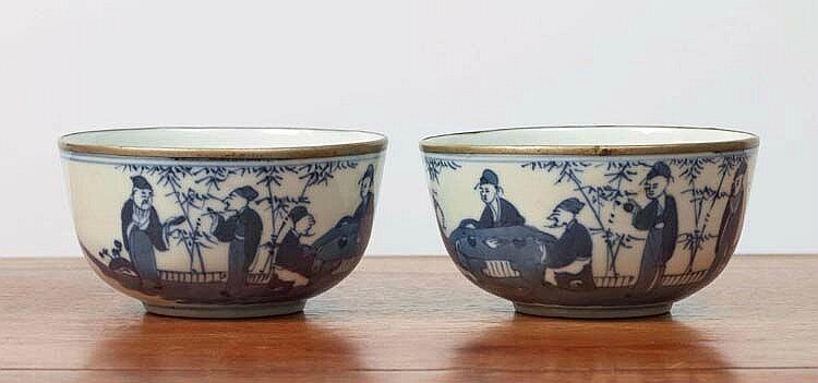 Paire de bols, Chine pour le Vietnam, dynastie Nguyễn (1802 - 1945)